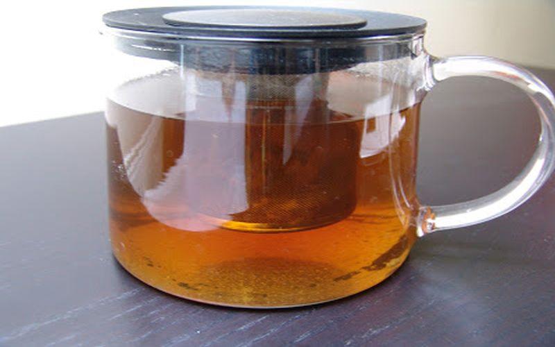 Herbata Bancha z kardamonem i skórką mandarynki